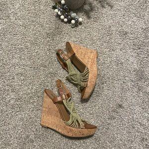 Mia wedge platform sandals